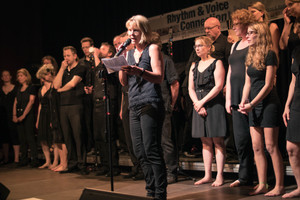 Vorschau: Rhythm & Voice Connection, Jubiläumskonzert am 04.07.2015 im Goldbekhaus. Foto by Bert Beyers.