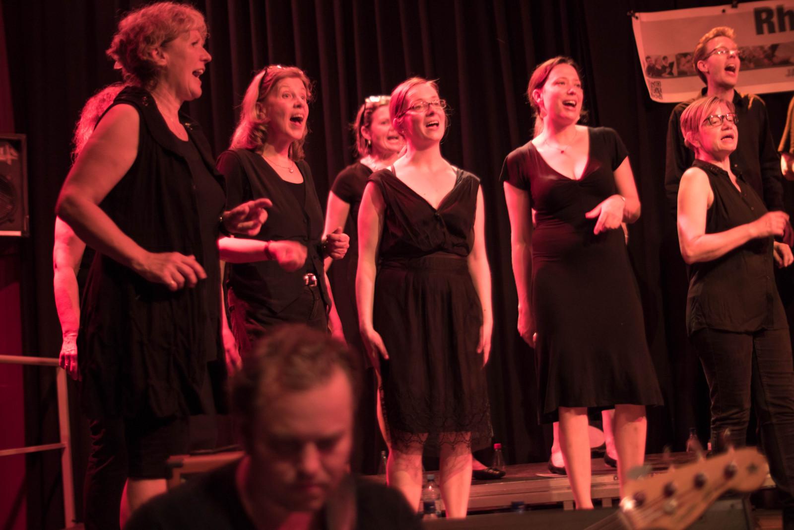 4.7.2015, Rhythm & Voice, der Sopran