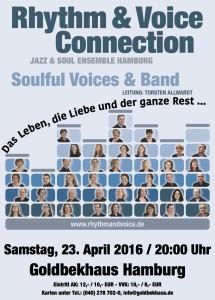 Flyer: Konzert 23.4.2016, Goldbekhaus