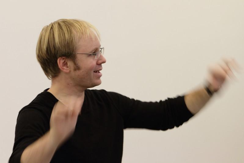 Chorleiter Torsten Allwardt